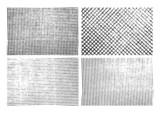 Grunge stripe texture backgrounds set