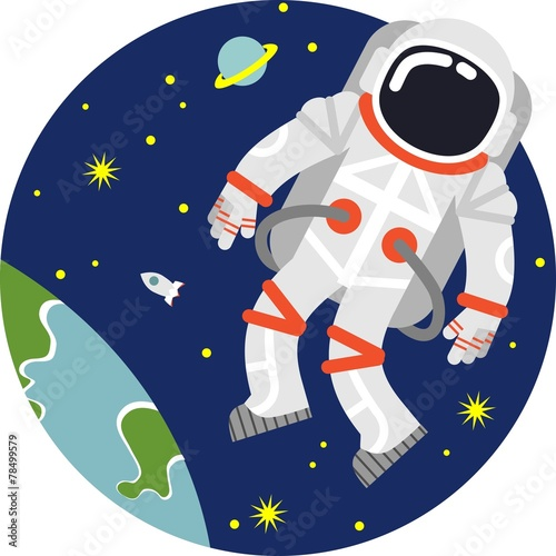 Astronaut in space - 78499579