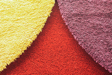 Colorful of carpets