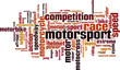 Motorsport word cloud concept. Vector illustration - 78499942