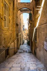 Ulica w Valletta, Malta