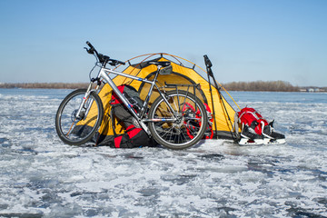 Tent on the ice cost.