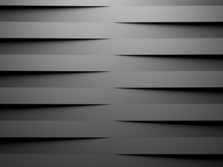 abstract geometrical background made of horizontal 3d blocks