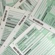 Leinwandbild Motiv Steuererklärung