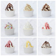 Frozen Yoghurt Collage - 78503576