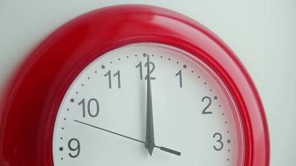 Clock Moving