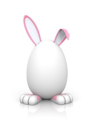 Rabbit in the egg. Female