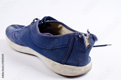 Old tennis shoes - 78505341