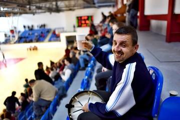 Basket-ball fan