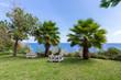 Vacation resort with seats near the sea at Madeira Island