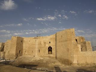 Ruins of fortress in Harran in Turkey