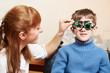 eye examinations at ophthalmology clinic