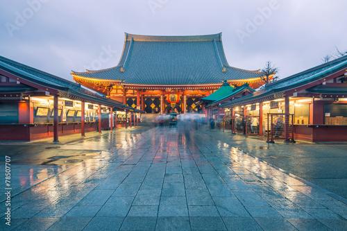 Fototapeta Tokyo - Sensoji, Temple in Asakusa, Japan