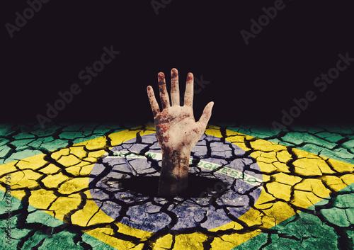 Poster Crise no Brasil