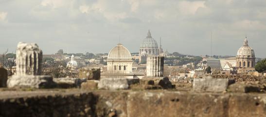 Rome. City landscape. places of Interest. Attractions.