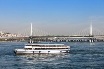 Metro bridge, Istanbul