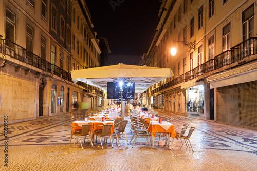 Poster Street cafe, Lisbon