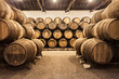 Leinwanddruck Bild - Wine cellar, Porto