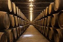 "Постер, картина, фотообои ""Wine cellar, Porto"""