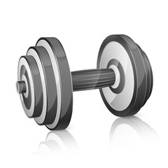 Realistic dumbbell