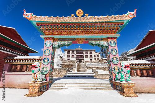 Fotobehang India Tengboche Monastery, Nepal
