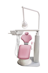 dental chair isolated under the white background