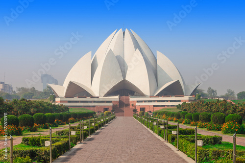 Fotobehang India Lotus Temple, India