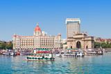 Taj Mahal Hotel and Gateway of India - 78511331