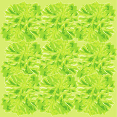 seamless parsley background pattern