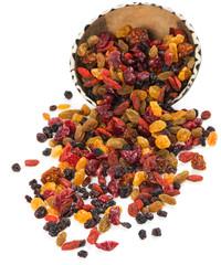 variety dried berries