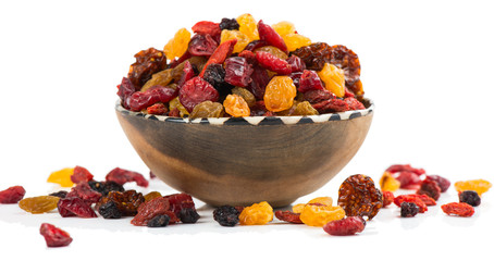 mixed dried berries