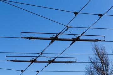 Tramway power line