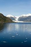 Chile - Amalia Glacier In Sunny Day