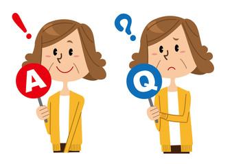 シニア女性 Q&A