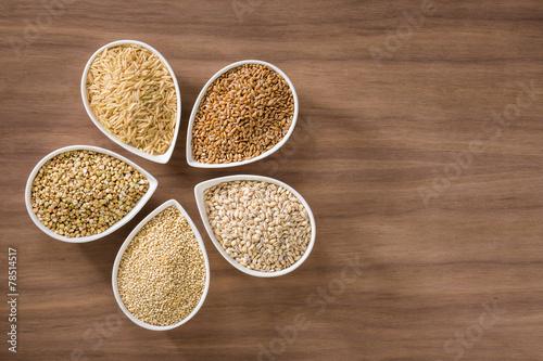Fotobehang Granen Whole Grains