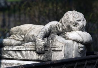 ancient Gravestone monumen