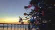 Christmas Tree on Beach, Ocean Beach, San Diego, California, USA - 78515791