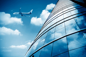 Shanghai Pudong Airport's aircraft