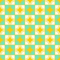 Bright abstract geometric  pattern, background, decor print, hal