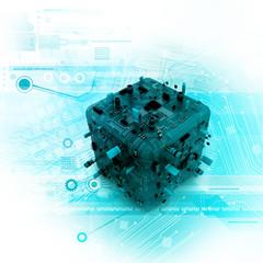 diigtal illustration of hardware box