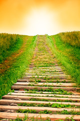 Stairway to sky