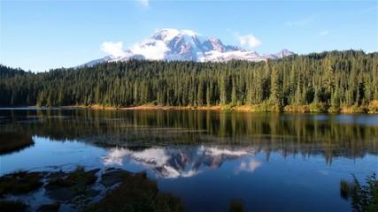 Mt.Rainier in USA