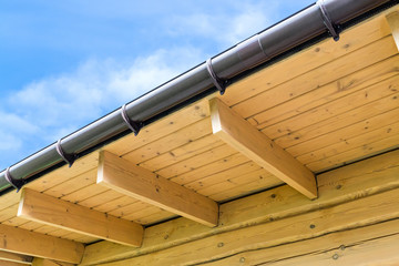 House roof rafters