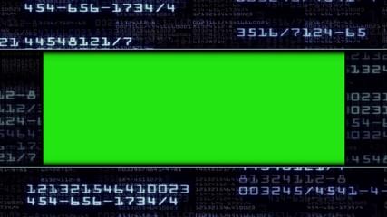 Numbers Door Gate, with Green Screen, Long Version