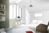 Dachgeschoss Ausbau (Entwurf) - 78520196