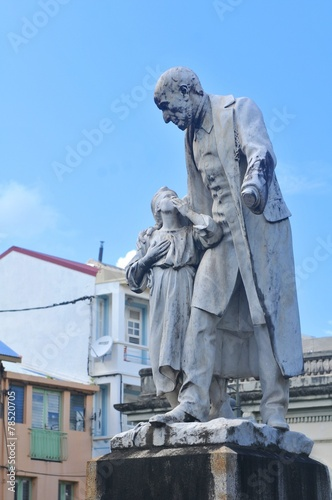 Papiers peints Statue Martinique landmarks
