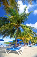 Exotic resort in Saint Lucia, Caribbean