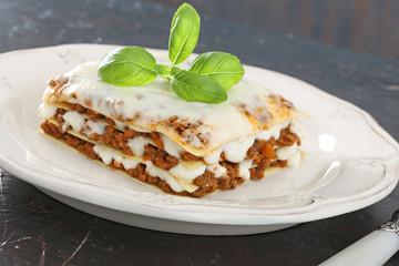 dieta mediterranea lasagne al forno