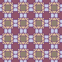 Abstract mosaic geometric pattern