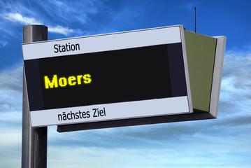 Anzeigetafel 6 - Moers